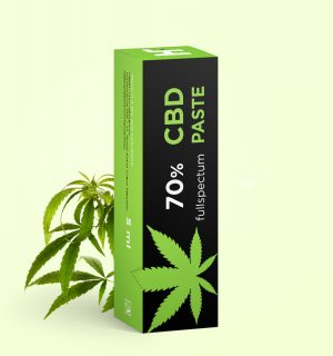 Full spectrum CBD paste 70% 10ml